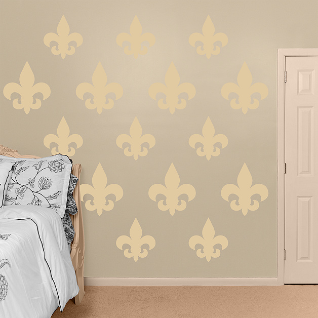 Fleur De Lis Wall Decal Shop Fathead For Basic Shapes Decor
