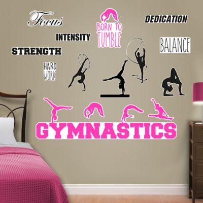 gymnastics collection wall decal shop fathead 174 for pics photos love gymnastics wall decals