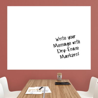 Dry Erase Sales Goal Tracking Chart Wall Decal Shop