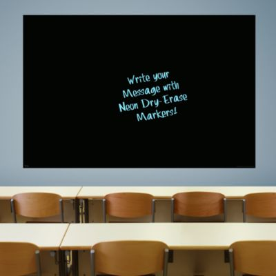 Jumbo Black Dry Erase Board by Fathead Fathead Wall Decal