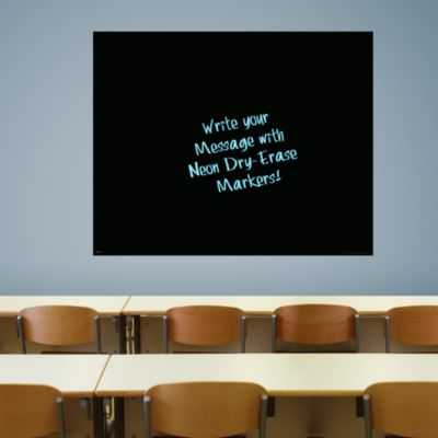 Extra Large Black Dry Erase Board by Fathead