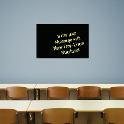 Medium Black Dry Erase Board by Fathead