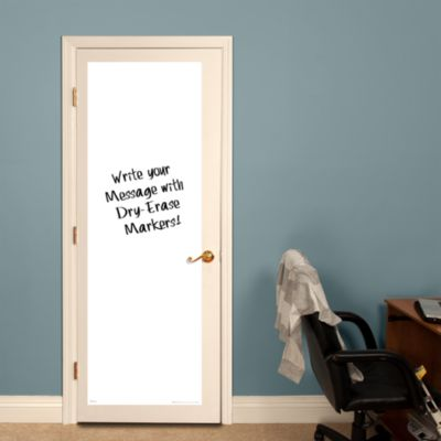 White Dry Erase Door Boards - Two Pack