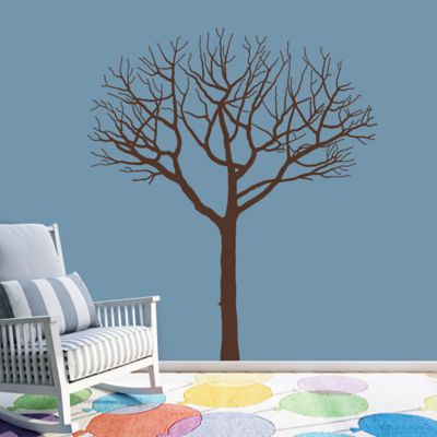 Winter Tree Fathead Wall Decal