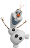 Frozen's Olaf Fathead Wall Decal