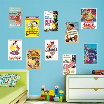 Classic Disney Movie Poster Murals Collection