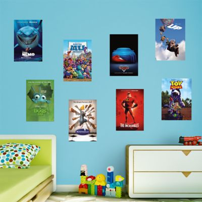 Pixar Movie Poster Murals Collection