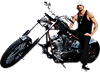 Kid Rock - Motorcycle Wall Decal