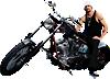 Kid Rock - Motorcycle Wall Decal
