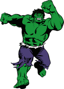 The Hulk Fathead wall decal