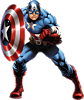 Captain America Fathead Wall Decal