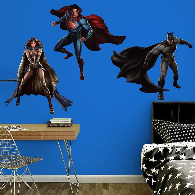 Fathead Batman v Superman wall decal
