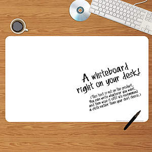Dry Erase Desk Blotter Fathead Wall Decal