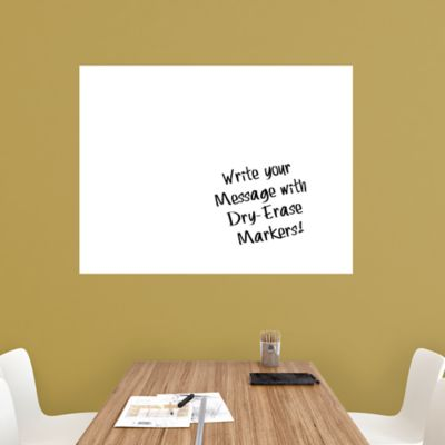 Large White Dry Erase Board by Fathead