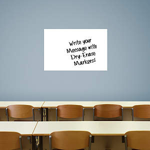 Medium White Dry Erase Board by Fathead Fathead Wall Decal