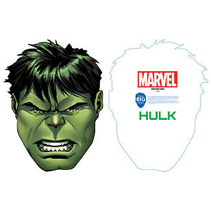 Incredible Hulk Big Head