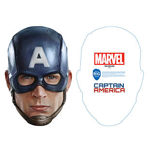Captain America Big Head