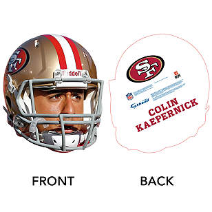 Colin Kaepernick Gameday Big Head