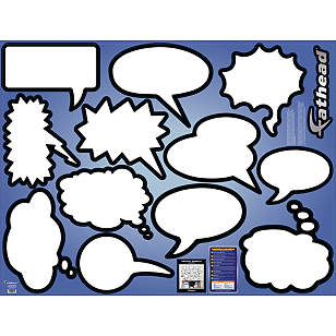 Dry Erase Thought Bubbles