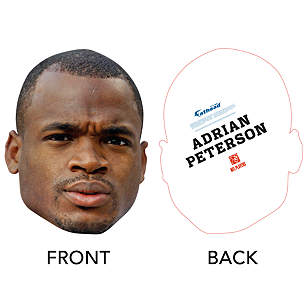 Adrian Peterson Big Head