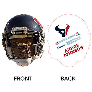 Andre Johnson Game Day Big Head