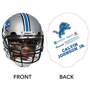 Calvin Johnson Jr. Game Day Big Head