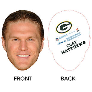 Clay Matthews Big Head