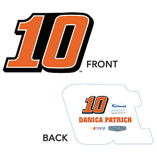 Danica Patrick Number Big Head