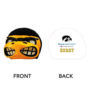 Herky the Hawk Big Head - Iowa Hawkeyes