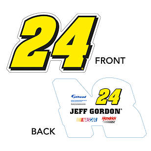 Jeff Gordon #24 Logo Big Head