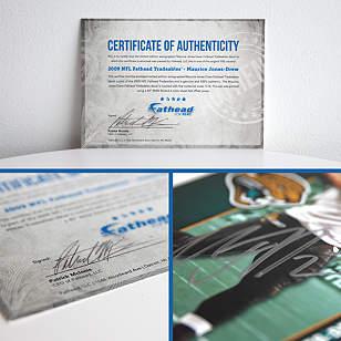 Autographed Maurice Jones-Drew - 2009 NFL Fathead Tradeable