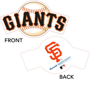San Francisco Giants Logo Big Head