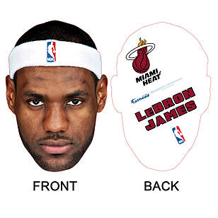LeBron James Big Head