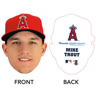 Mike Trout Big Head