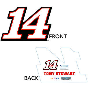 Tony Stewart Number Big Head