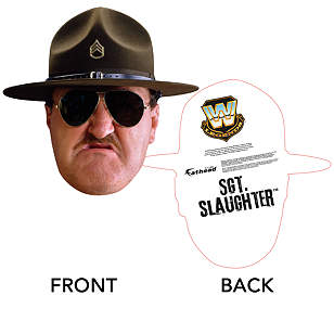 Sgt. Slaughter Big Head