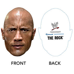 The Rock Big Head