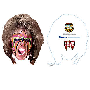 Ultimate Warrior Big Head