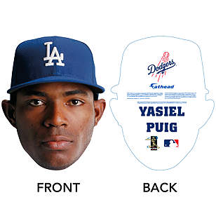 Yasiel Puig Big Head