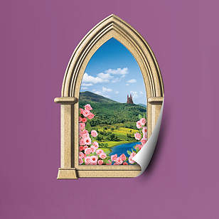 Fairy Tale Castle: Instant Window