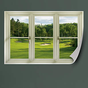 Spring Golf Tee Box: Instant Window