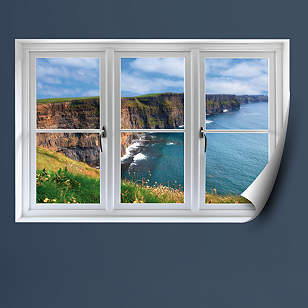 Irish Cliffs: Instant Window