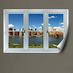 New York Skyline: Instant Window