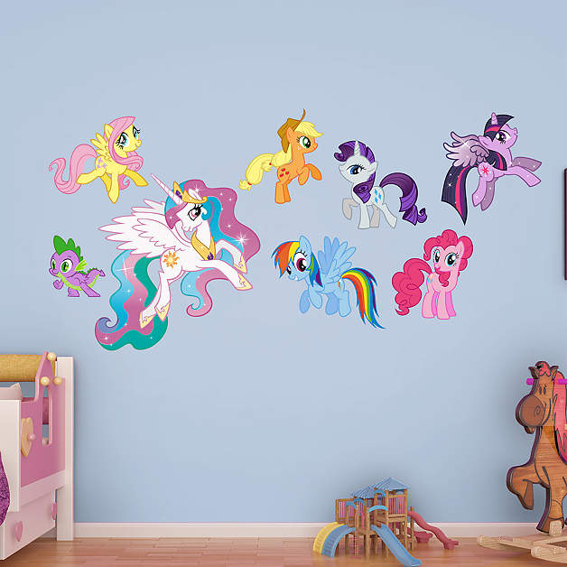 My Little Pony Fathead Wall Decals