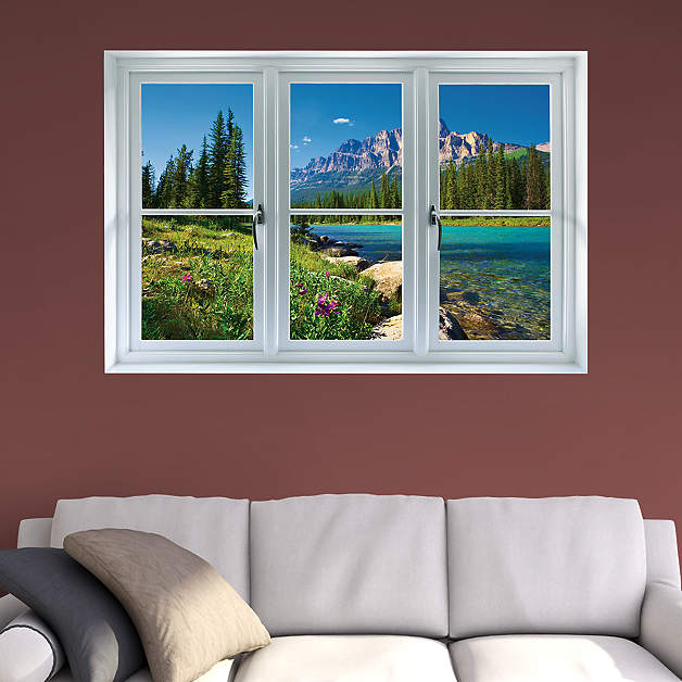 Instant Window Wall Decals