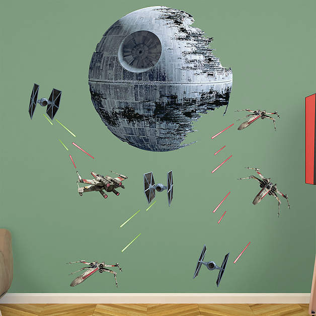 Star Wars wall decals from Fathead
