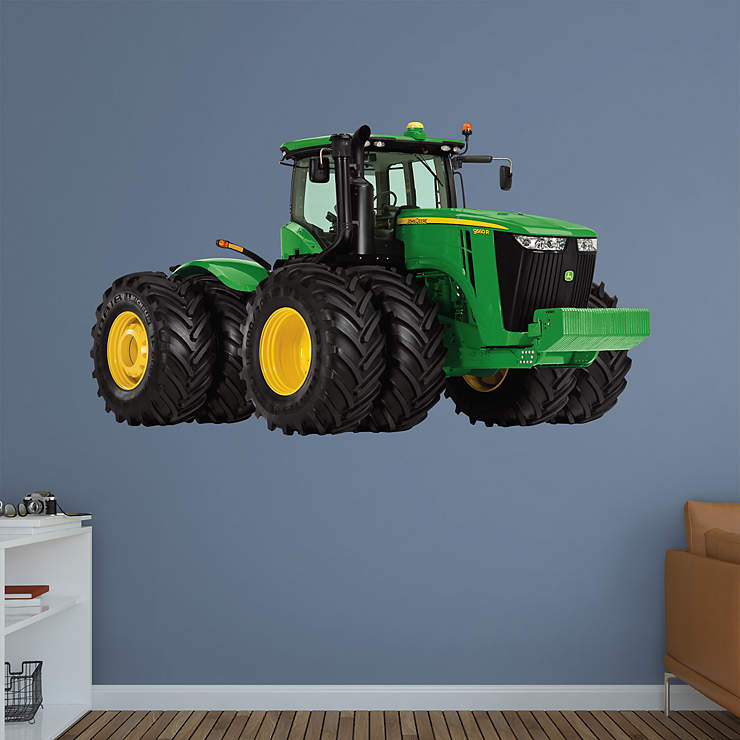 John Deere Wall Decor : John deere r tractor