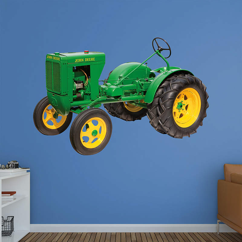 John Deere Wall Mural : John deere tractor wall decor car interior design