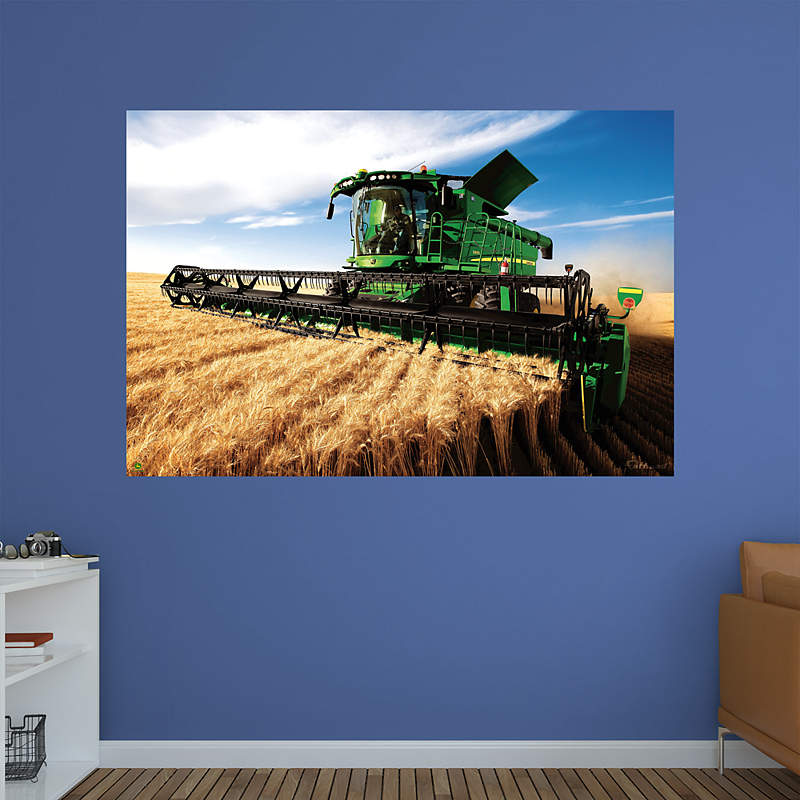 John Deere Wall Decor : John deere r tractor wall decal fathead? for