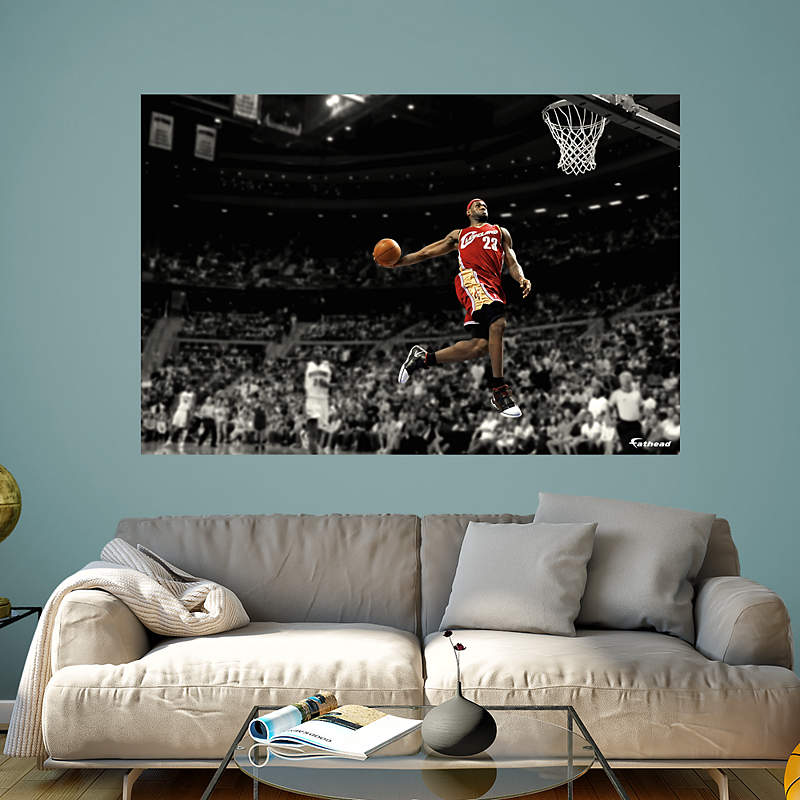 Cleveland Cavaliers Fans Scale Walls To Get Photos Of Nba: Shop Cleveland Cavaliers Wall Decals & Graphics